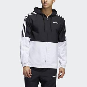 adidas-Essentials-3-Stripes-Windbreaker-Men-039-s