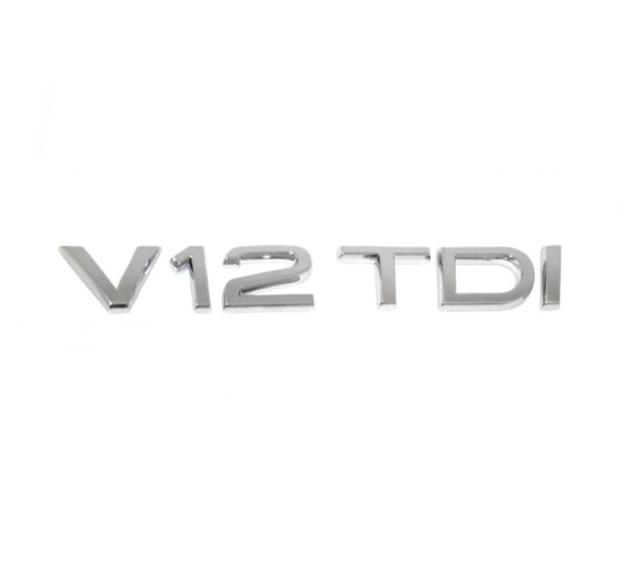 GENUINE Audi A8 Q7 2007-2015 V12 TDI Rear Lettering Badge Emblem 4L0853743D2ZZ