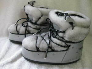 NEW-750-JIMMY-CHOO-MOON-BOOT-GENUINE-SHEARLING-FUR-EU-35-36-US-4-5-5