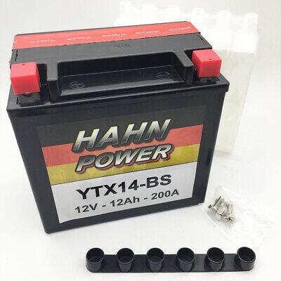 Batterie Für Honda 1500ccm Gl1500 Valkyrie Baujahr 1997-2003 (ytx14-bs)