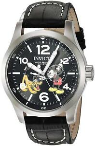 Invicta-22873-Disney-Limited-Edition-Men-039-s-48mm-Stainless-Steel-Black-Dial-Watch