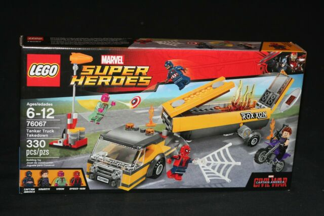 LEGO MARVEL SUPER HEROES 76067 TANKER TRUCK TAKEDOWN (2016) RETIRED NEW SEALED