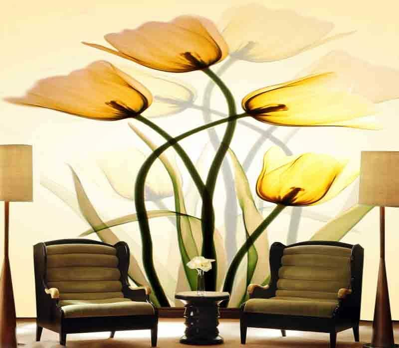 Melodious Pure Lily 3D Full Wall Mural Photo Wallpaper Printing Home Kids Decor