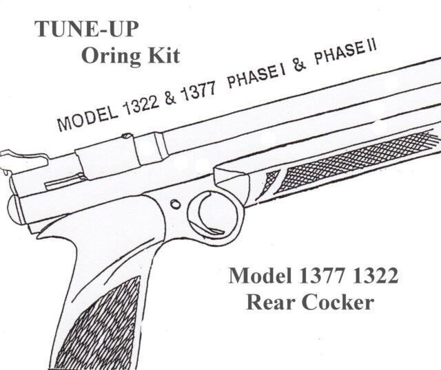 PC77 Seal Kit 1322 Crosman 1377