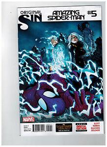 AMAZING-SPIDER-MAN-5-1st-Printing-Original-Sin-2014-Marvel-Comics