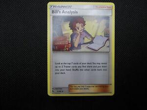 Bill's Analysis 51/68 Hidden Fates NON HOLO RARE Pokemon Card NM/MINT