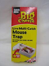 New Stv The Big Cheese Multi Mouse Live Humane Trap STV162