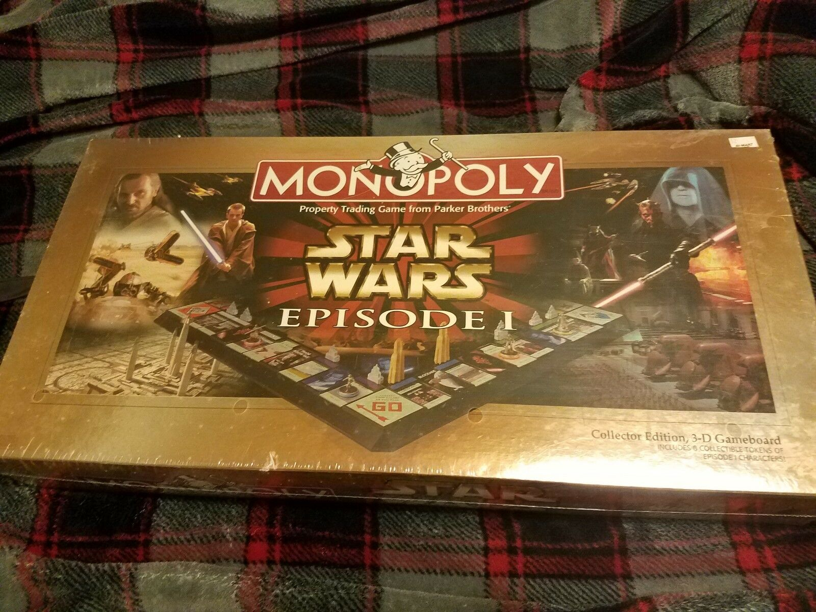 Star Wars Episode I Monopoly Collector Ed NEW SEALED Board Game Phantom Uomoace