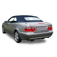 W208 Mercedes Benz CLK Series 1999-2003 Convertible Soft Top Blue German Canvas