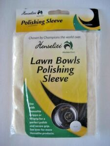 All-New-Henselite-Lawn-Bowls-Polishing-Sleeve-FREE-SHIPPING