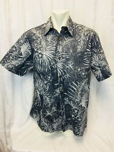 Hawaiian Xl Shirt Blue Mens Nwot Reverse Print Street Bishop 0HIxzCq1