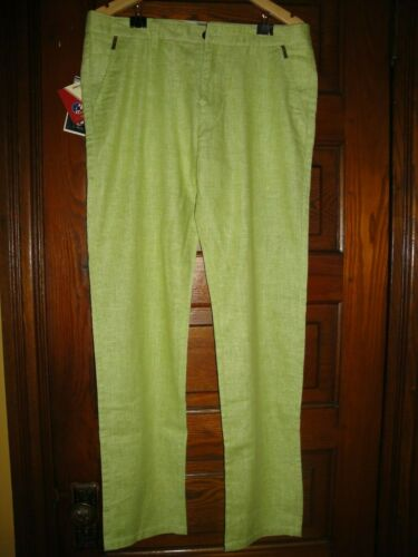 UShark Lime Green Chino Pants Size 33