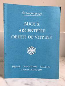 Catalogue Di Vendita Tajan Ader Picard Gioielli Argenteria Sala N°2 28 Feb