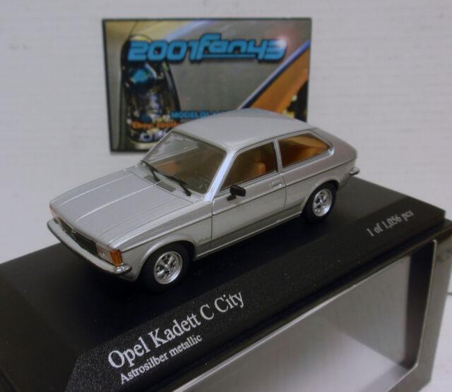 OPEL KADETT C CITY 1978 1/43 MINICHAMPS