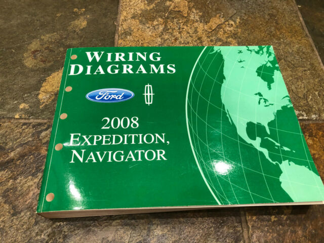 2008 Ford Expedition Lincoln Navigator Wiring Diagrams
