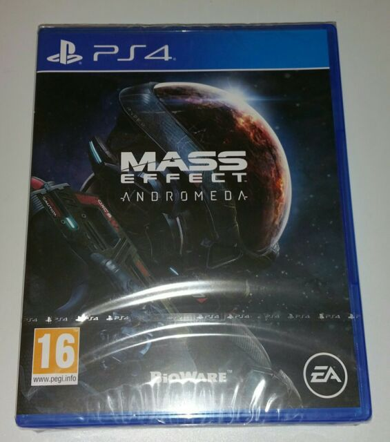 Mass Effect 4 Andromeda PS4 New Sealed UK PAL Version Game Sony PlayStation 4