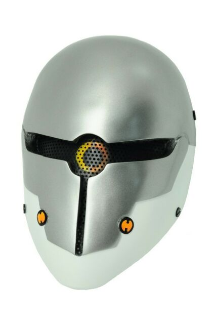 Paintball Airsoft Wire Mesh Full Face Protection Robot Mask Prop Cosplay A559