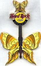 Hard Rock Cafe JAKARTA 2004 Tattoo BUTTERFLY Guitar Series PIN - HRC #22088
