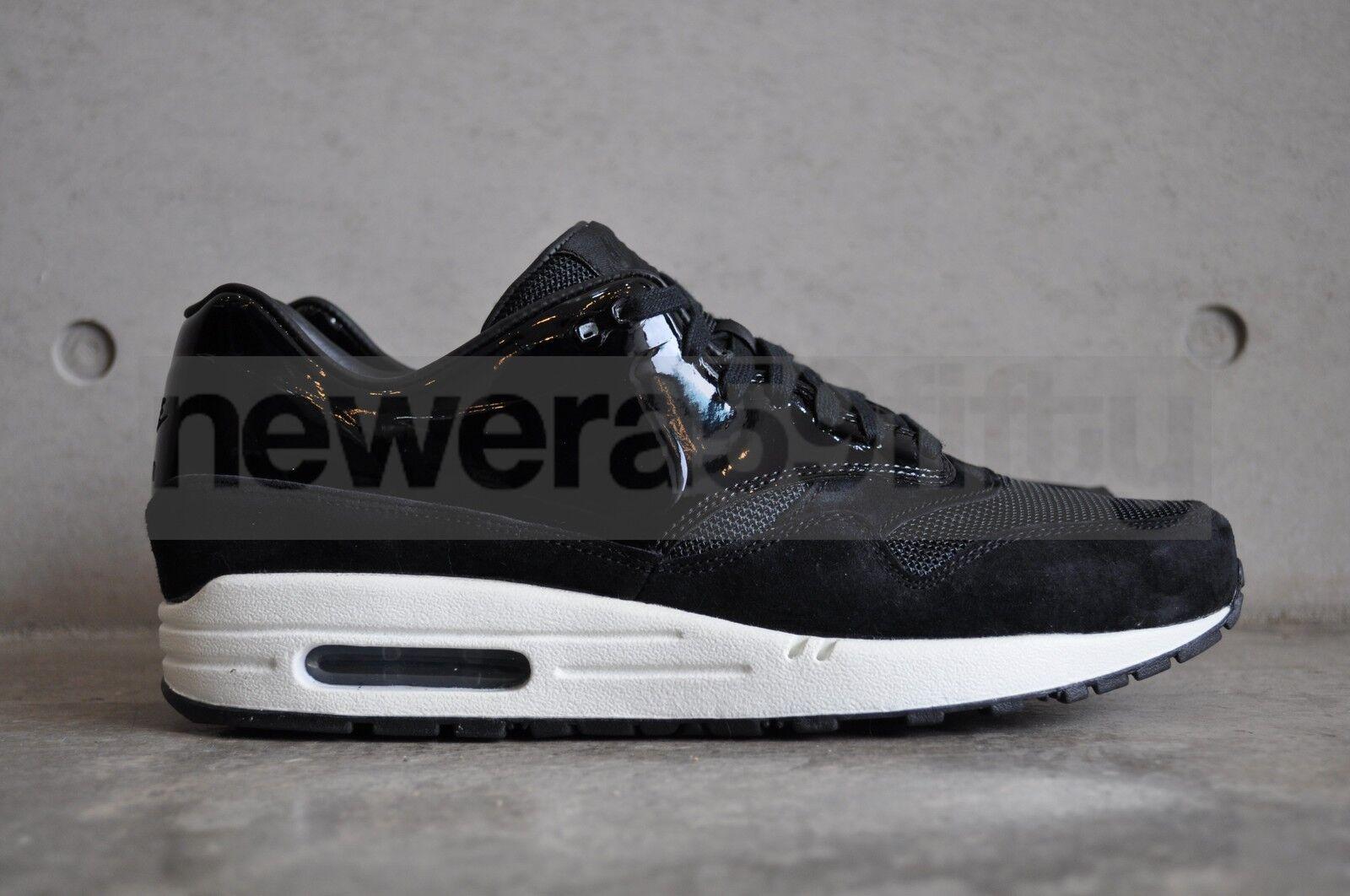 Nike Da Donna Air Max 1 VT VAC TECH QS-Nero/SAIL-Bianco