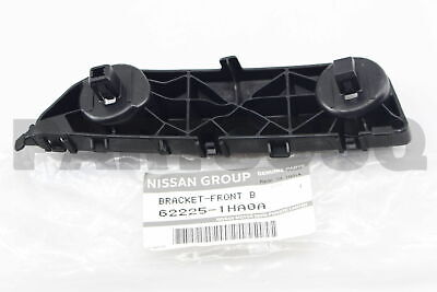 622241HA0A Genuine Nissan BRACKET-FRONT BUMPER SIDE,RH 62224-1HA0A