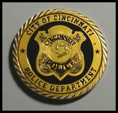 MINNEAPOLIS POLICE DEPARTMENT #1376 COLORIZED ART ROUND