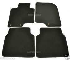 FIT FOR 2010-2014 HYUNDAI SONATA BLACK NYLON CARPET FLOOR MATS 4 PCS