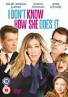 I Don't Know How She Does It 5017239197185 With Pierce Brosnan DVD Region 2