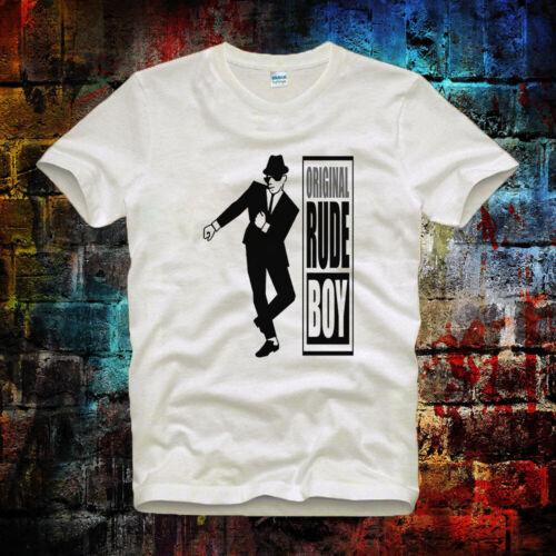 Original Rude Boy Ska Vintage tee top Retro Vintage Unisex/&Ladies T Shirt 399b
