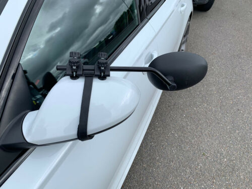 Vauxhall Meriva Mokka PREMIUM FIT 2X caravan towing extension car wing mirrors