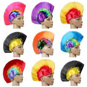 Halloween-Cosplay-Party-Hot-Rainbow-Mohawk-Hair-Wig-Fancy-Costume-Punk-Rock-Wigs