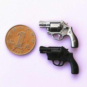 1-6-Scale-Mini-Plastic-Revolver-Gun-Pistol-Weapon-Model-Fit-12-034-Action-Figure