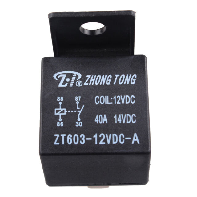 Car Truck Auto Automotive 12v 40a 40 Amp Spst Relay Relays