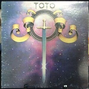TOTO-Self-Titled-Debut-Album-Released-1978-Vinyl-Record-Collection-US-pressed