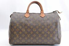 Authentic Vintage Louis Vuitton Monogram Speedy 35 Tote Bag M41526 LV