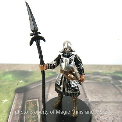 Waterdeep Dragon Heist ~ CITY GUARD #4A Icons of the Realms D/&D miniature