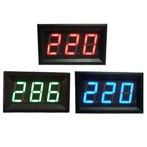 0-56-inch-Voltimetro-LED-3-Digital-Panel-Pantalla-Voltaje-Metro-2-Wire-5-120V