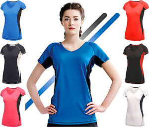 REGATTA-Ladies-Performance-T-shirt-Top-Breathable-Moisture-Wicking-Quick-Drying