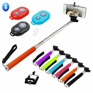 (LOT OF 10X) Wholesale Handheld Selfie Stick Monopod for Iphone & Samsung
