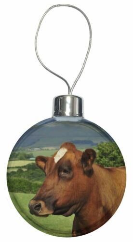 ACO-6CB A Fine Brown Cow Christmas Tree Bauble Decoration Gift