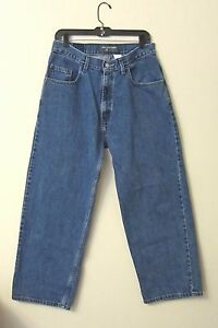 LEVI SILVERTAB OVERSIZED FIT MENS JEANS Sz 31 x 30 ~ MEASUREMENT ...