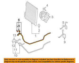 SMART OEM 08-15 Fortwo AC A//C Air Conditioner-Discharge Line 4518320015