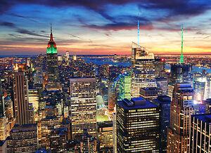 Fototapete SELBSTKLEBEND New York (3007)-8Teile PAPIER 272x198cm-Manhattan - Dreieich, Deutschland - Fototapete SELBSTKLEBEND New York (3007)-8Teile PAPIER 272x198cm-Manhattan - Dreieich, Deutschland