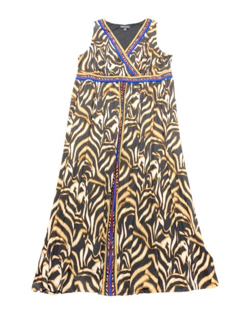 New $100 value! INC 3X Animal Print Sleeveless Surplice Maxi Dress