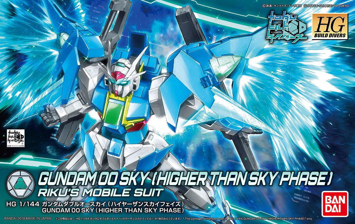 Gundam 1 144 HGBD SP Build Divers 00 Sky [Higher Than Sky Phase] Model Kit