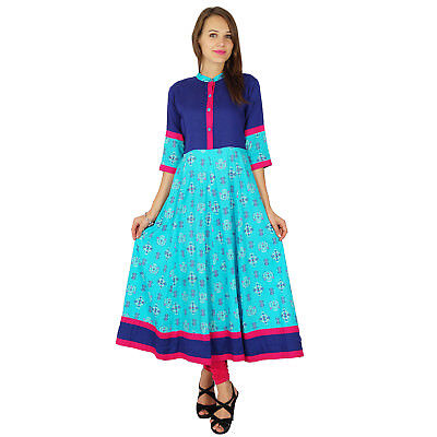 phagun bollywood kurta Designer  Frauen ethnischen kurti Baumwolle Tunika-Kleid