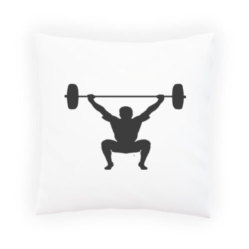 Gym Train Hard Funny Novelty Oreiller Housse De Coussin c557p