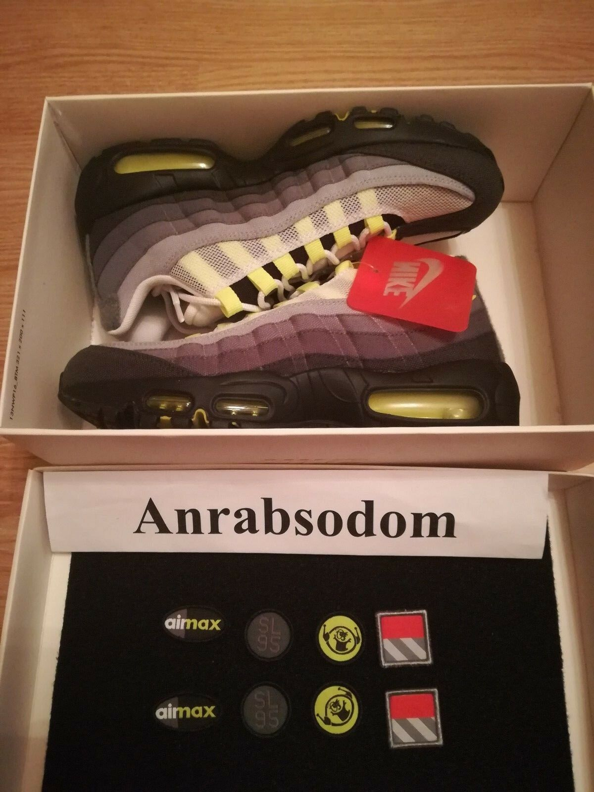 Nike Air Max 95 V SP Neon PATCH (747137-170) UK6 - US7 - EU40