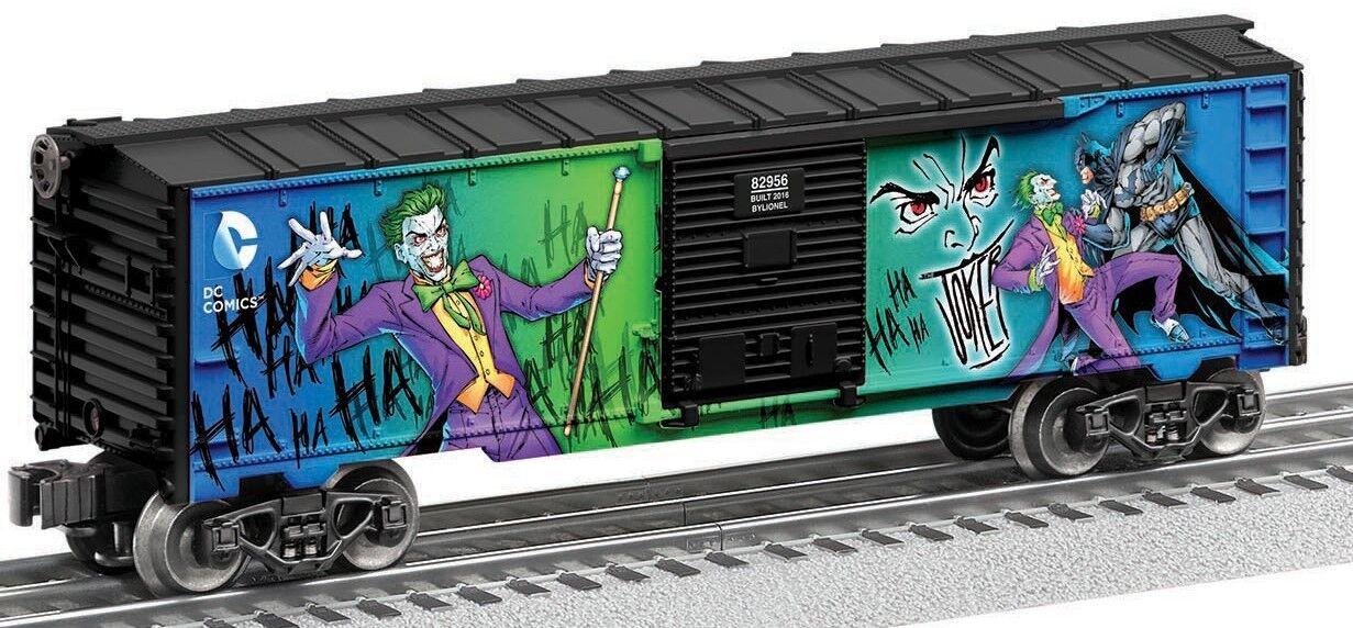 Lionel Joker Lex Luther Furgón Pack Hecho en EE. UU.