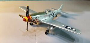 "ARMOUR (98035) USAAF P-51D MUSTANG ""NAKED LADY"" 1:48 SCALE DIECAST METAL MODEL"