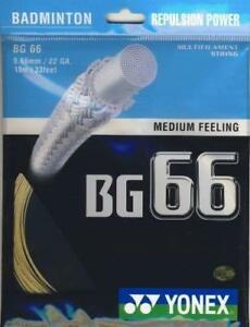 Bg66-0-66mm-Plantinum-Gold-Badminton-String